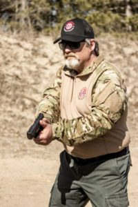 Firearms Instructor Bruce Anderson