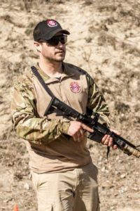 Firearms Instructor Dylan Anderson